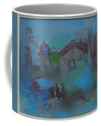 Landscape In Blue Coffee Mug