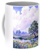 Landscape In Blues Coffee Mug