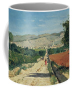 Landscape In Provence Coffee Mug by Paul Camille Guigou