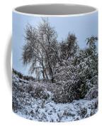 Landscape In The Snow Coffee Mug