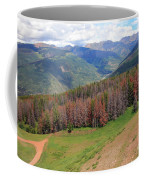 Landscape In Vail Coffee Mug