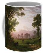 Landscape Near Lucerne With View To Mount Rigi Coffee Mug