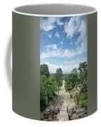 Landscape View From Preah Vihear Mountain In North Cambodia Coffee Mug