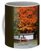 Landscape View Of Mobile Home 1 Coffee Mug
