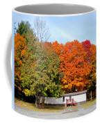 Landscape View Of Mobile Home 2 Coffee Mug