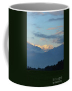 Landscape View Of The Dolomite Mountains In Northern Italy Coffee Mug