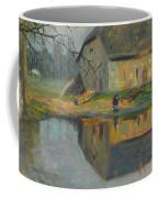 Landscape With A Barn Coffee Mug