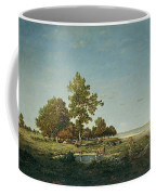 Landscape With A Clump Of Trees Coffee Mug