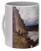 Landscape With A Figure Of His Brother Vasily Ivanovich Surikov Coffee Mug