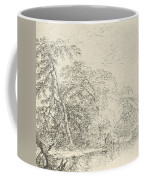 Landscape With A Herdsmen Coffee Mug