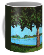 Landscape With A Lake And Tree Coffee Mug