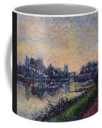 Landscape With A Lock 1885 Coffee Mug