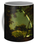 Landscape With A Rainbow Coffee Mug by Joseph Wright of Derby
