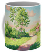 Landscape With A Red Cottage Coffee Mug