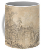 Landscape With A Rustic Bridge Coffee Mug