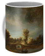 Landscape With A Stone Bridge Coffee Mug