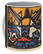 Landscape With A Sun Coffee Mug