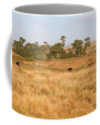 Landscape With Cows Grazing In The Field . 7d9957 Coffee Mug