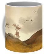 Landscape With Crows  Coffee Mug