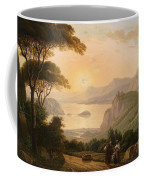 Landscape With Decorative Coffee Mug