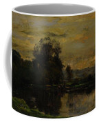 Landscape With Ducks Coffee Mug