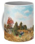 Landscape With Fox Coffee Mug