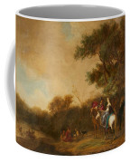 Landscape With Hunting Party Coffee Mug