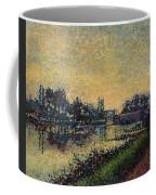 Landscape With Lock 1886 Coffee Mug