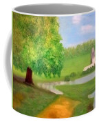 Landscape With Luxuriant Tree And Folly Coffee Mug