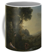 Landscape With Narcissus And Echo Coffee Mug