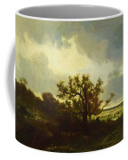 Landscape With Oaktree Coffee Mug