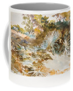 Landscape With Palmettos Coffee Mug