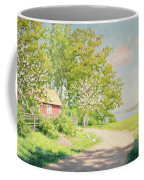 Landscape With Pickling Hens Coffee Mug