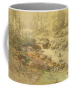 Landscape With Rocks In A River Coffee Mug