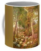 Landscape With Sheep Coffee Mug