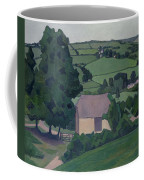 Landscape With Thatched Barn Coffee Mug