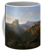 Landscape With The Castle Of Montsegur Coffee Mug