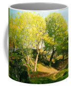 Landscape With Trees In Wales Coffee Mug