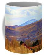 Landscape Wyoming State  Coffee Mug