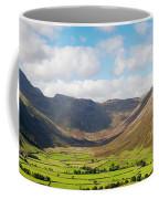 Langdale Fell And Pikes Panorama Coffee Mug
