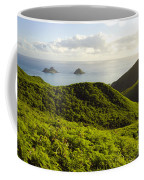 Lanikai Hills Coffee Mug