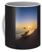 Lanikai Lounging At Sunrise Coffee Mug