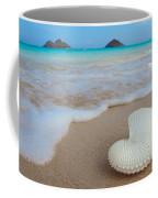 Lanikai Paper Nautilus Coffee Mug by Sean Davey