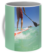 Lanikai Stand Up Paddling Coffee Mug