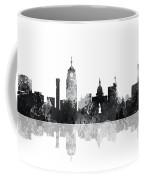 Lansing Michigan Skylines Coffee Mug