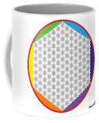 Large 64 Tetra Flower Of Life Coffee Mug