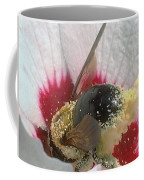 Large Bumble Bee In Flower Coffee Mug