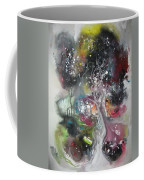Large Color Fever Abstract25-original Abstract Painting Coffee Mug