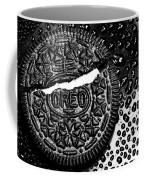 Large Oreo Black And White  Coffee Mug