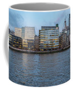 Large Panorama Of Downtown London Betwen The London Bridge And T Coffee Mug